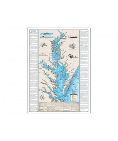 Shipwrecks of Chesapeake Bay - Paper (Harve De Grace / Norfolk) 1243 Image 1