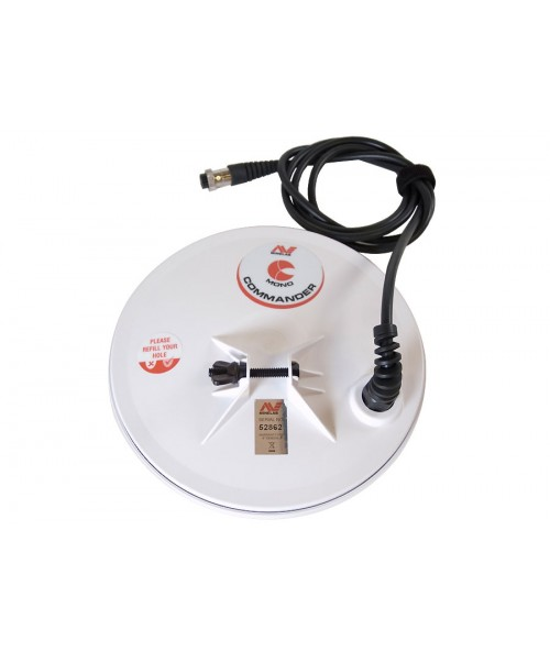 "Minelab 8"" Round Mono Commander Search Coil (GPX / GP / SD)  30110072 Image 1"