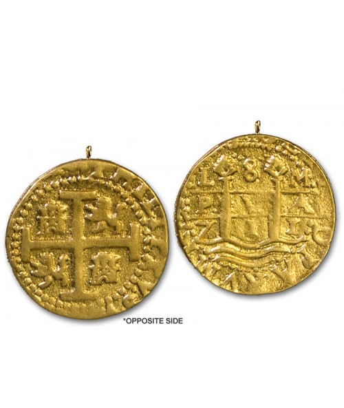 Kellyco 1714 Treasure Coin Replica 04-N Image 1
