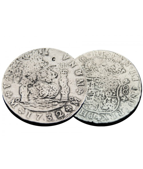 Kellyco Silver Treasure Coin Replica 00 Image 1