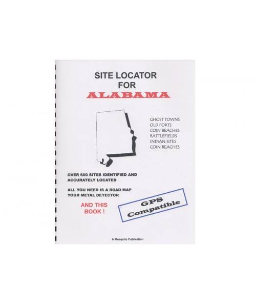 Kellyco Site Locator For Alabama GPS Compatible 0200 Image 1