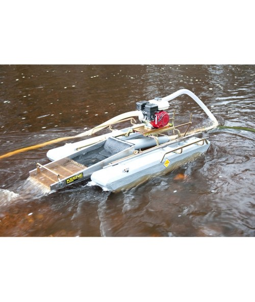 "Keene 6.5 HP 3"" Ultra Mini Dredge w/ Compressor 3505P Image 1"