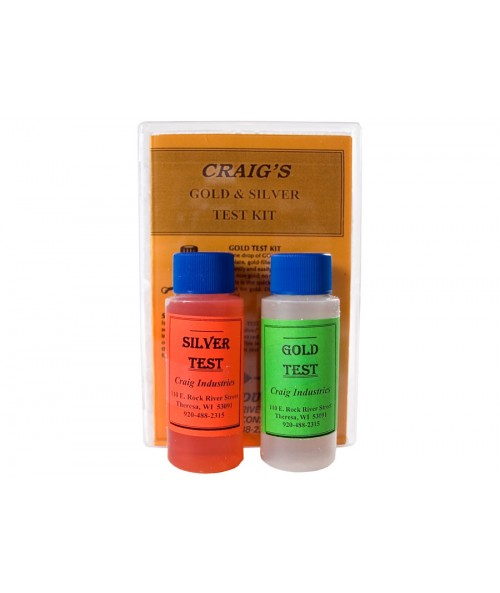 Kellyco Silver and Gold Test Kit GSTK Image 1