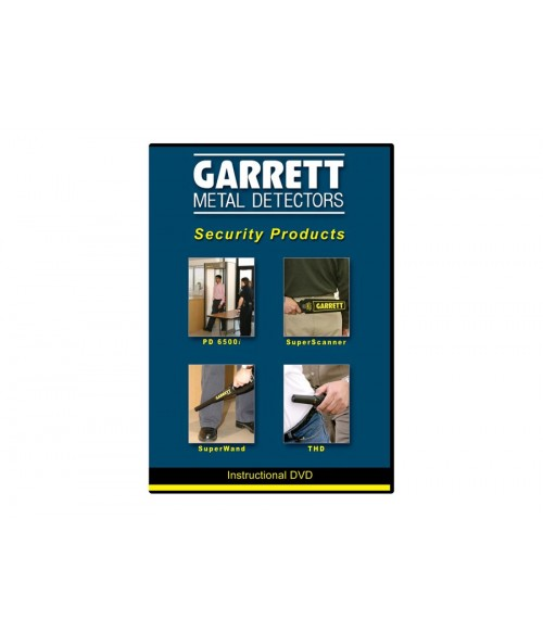 Security Equipment: Garrett Security Equipment