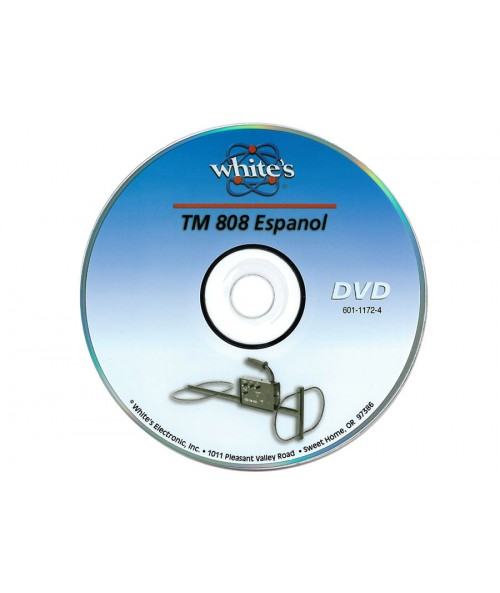 White's TM 808 DVD (Spanish)  60111714 Image 1