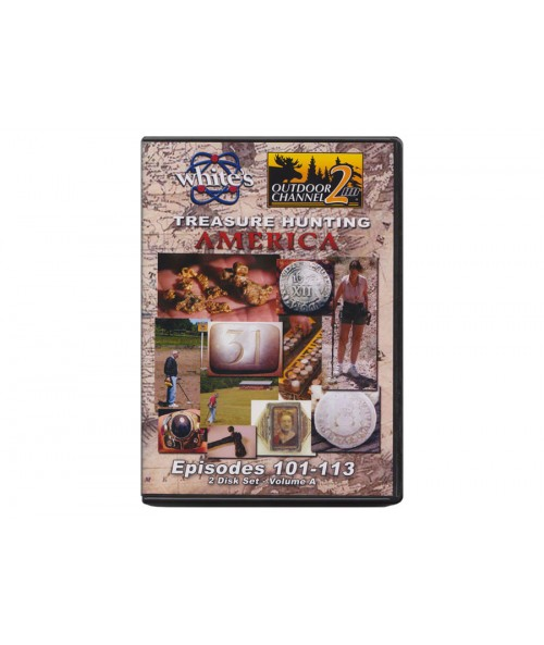 White's Treasure Hunting America DVD 6011218 Image 1