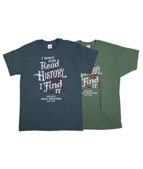 """I Don't Read History I Find It"" Men's T-Shirt G200History Image 1"