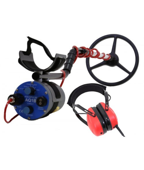 "Aquapulse AQ1B with 10"" Submersible Search Coil (UW Headphones) AQ110KBK Image 1"