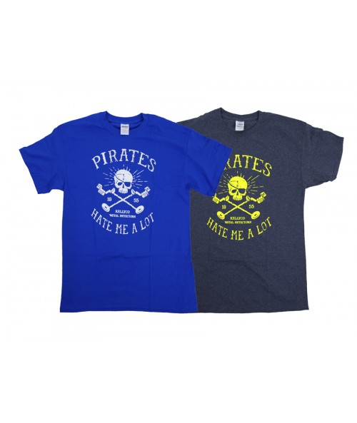 """Pirates Hate Me A Lot"" Men's T-Shirt G200Pirate Image 1"