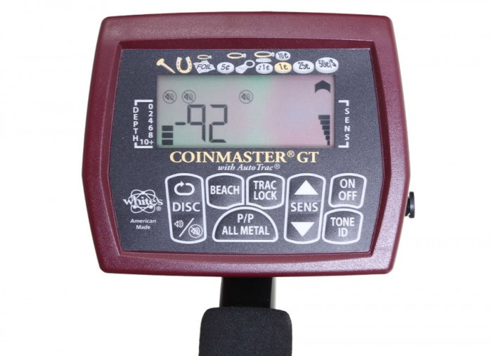 White's coinmaster gt metal detector - kellyco.