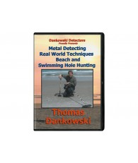Metal Detecting Real World Techniques Beach and Swimming Hole Hunting DVD