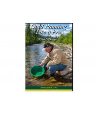 Gold Panning Like a Pro with Freddy Dodge DVD