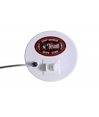 "8.5"" Round Widescan Search Coil with Long Cable (5 Pin)"