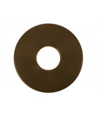 "8"" Round Coil Cover (Brown)"