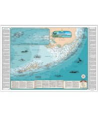FL Keys Shipwreck Map (Soldier Key / Dry Tortugas)