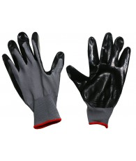 Black Polyurethane Coated Gloves