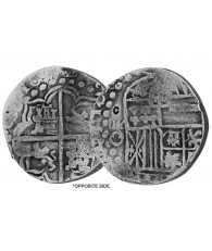 "1622 Spanish 8 Reale ""Piece of Eight"" Silver Coin Replica"