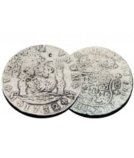 Silver Treasure Coin Replica