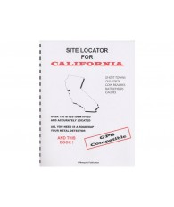 Site Locator For California GPS Compatible