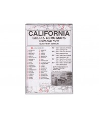California: Gold & Gems Maps
