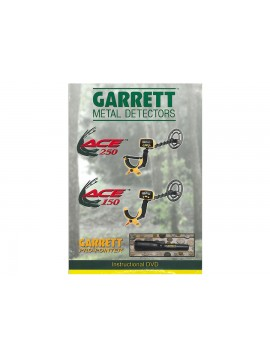 Garrett Ace 150 / 250 Instructional DVD 1678700 Image 1