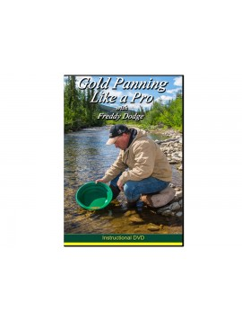 Garrett Gold Panning Like a Pro with Freddy Dodge DVD 1678800 Image 1