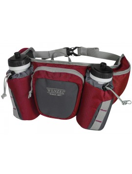 Wenzel Freerun 2 Bottle Waist Pack (Red) 25509 Image 1