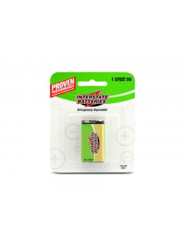 Interstate Batteries Alkaline 9V Battery