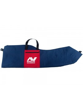 Large Blue Carrying Bag with Red Pocket