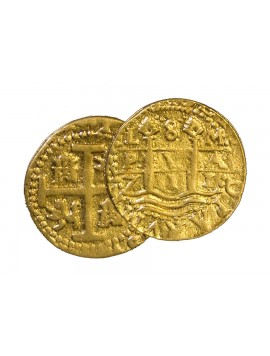 Kellyco 1714 Treasure Coin Replica (Only One Coin Included) 04 Image 1