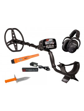 Garrett Holiday AT Max Treasure Hunting Package Metal Detector ATMAX-TH Image 1