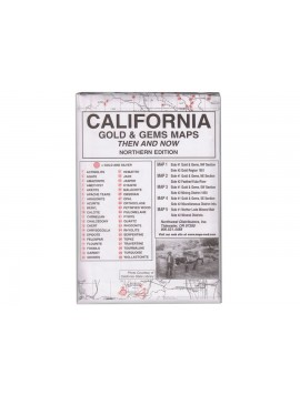Kellyco California: Gold & Gems Maps CA Image 1