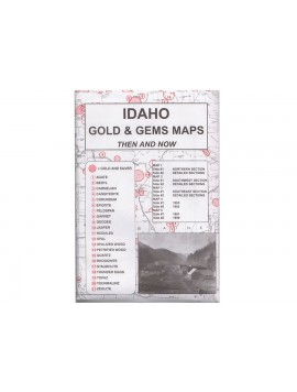 Kellyco Idaho Gold Gem Maps ID Image 1
