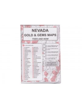 Kellyco Nevada: Gold & Gems Maps NV Image 1