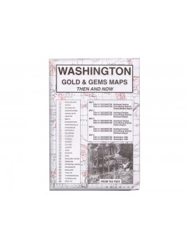 Kellyco Washington: Gold & Gems Maps WA Image 1