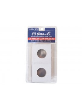 "Kellyco Quarter 2x2"" Coin Mount (Pkg of 25) 9183 Image 1"