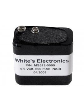 White's 8 Cell Nicad (Use with 509-0009 Charger) 5120009 Image 1
