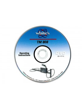 White's TM 808 DVD (English) 60111713 Image 1