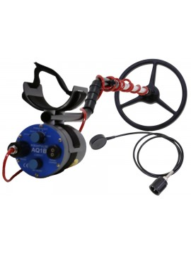 "Aquapulse AQ1B - 10"" Submersible Search Coil (Bone Phone) AQ110KBK Image 1"