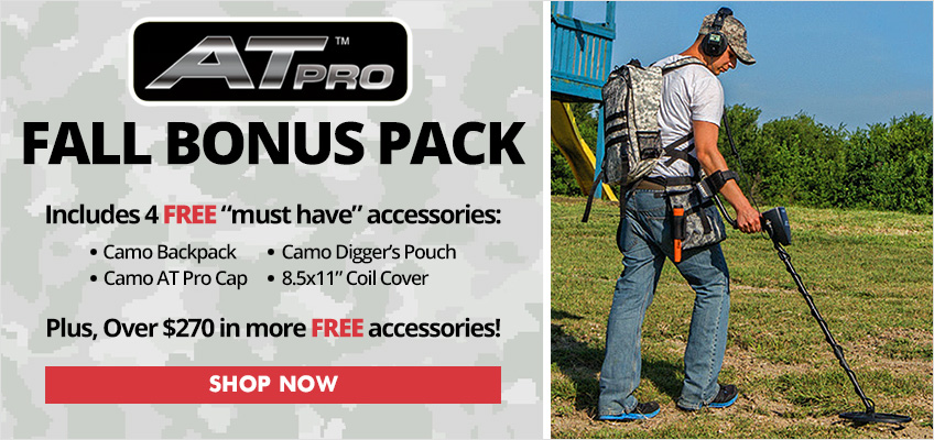 Garrett AT Pro Fall Bonus Pack Metal Detector