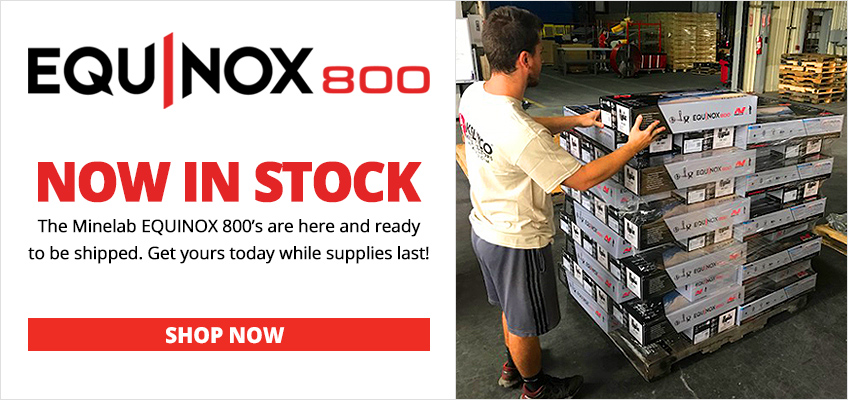 EQUINOX 800 Now In Stock