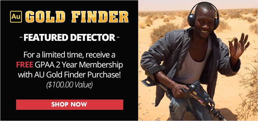 AU Gold Finder Featured Detector