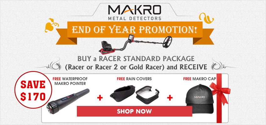 Free Makro Pinpointer Holiday Kit