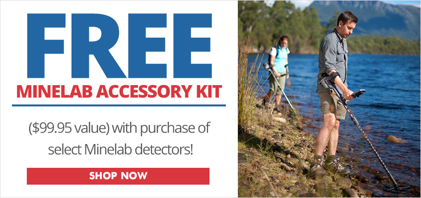 Free Minelab Accessory Kits