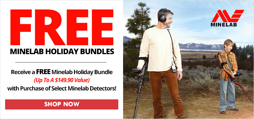 Minelab Holiday Bundle Offers