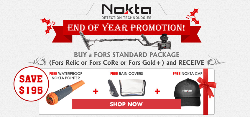 Free Nokta Pinpointer Holiday Kit