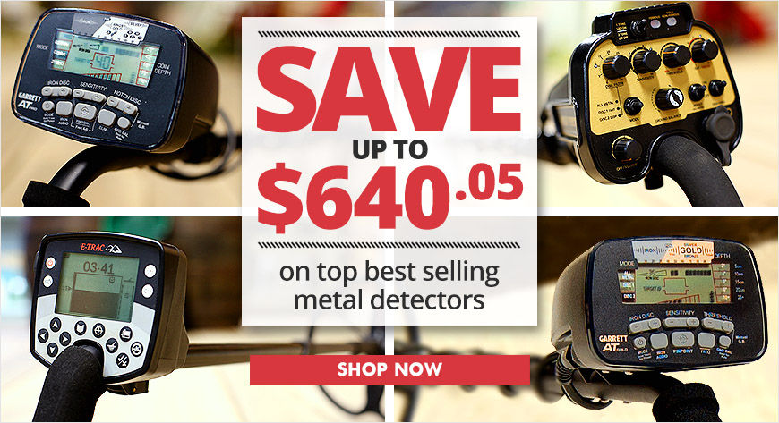 Top Best Selling Metal Detectors