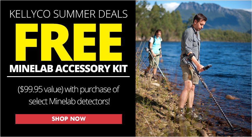 Free Minelab Accessory Kit