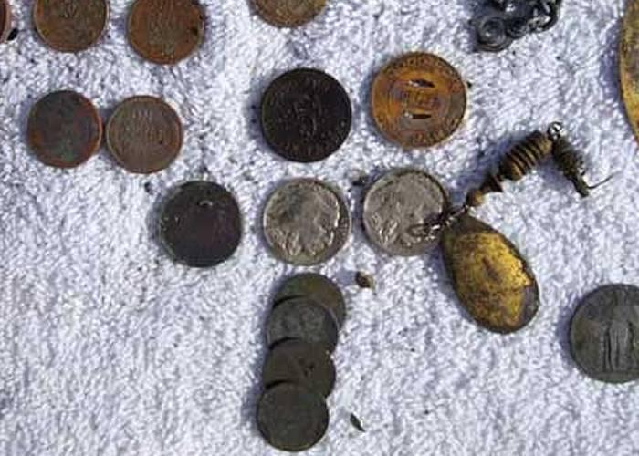how to find old coins with a metal detector