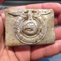 WWII German SS Belt Buckle